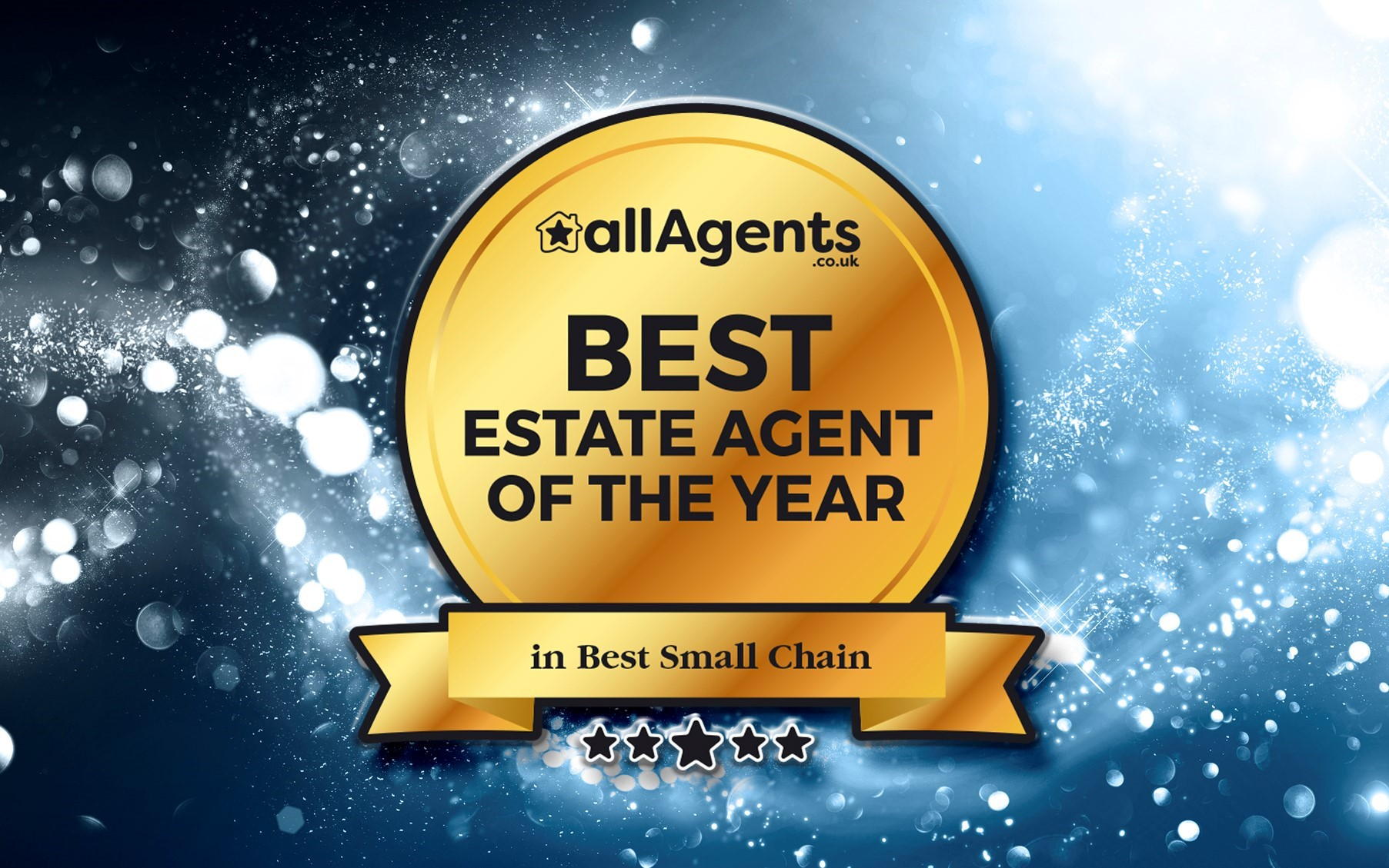 allAgents Winner Best Small Chain 2019